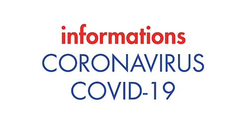 COVID 19 -Maintien de l'activité